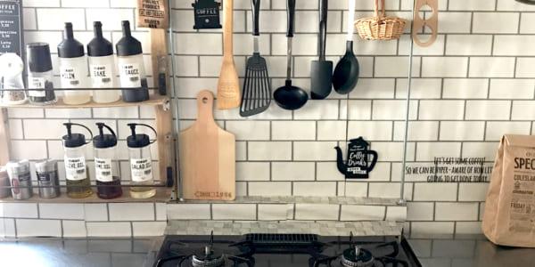 キッチンが簡単に生まれ変わる♪100均リメイクシートを使ったDIYアイデア特集