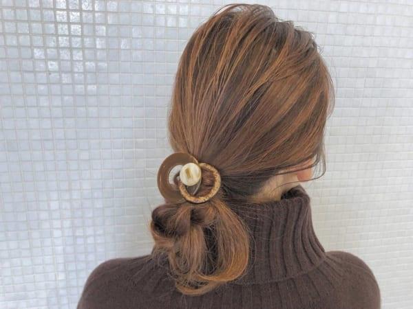 オフィスカジュアルのヘアスタイル30