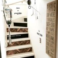 おしゃれな階段インテリア!毎日何度も上がり降りする階段を素敵に♡