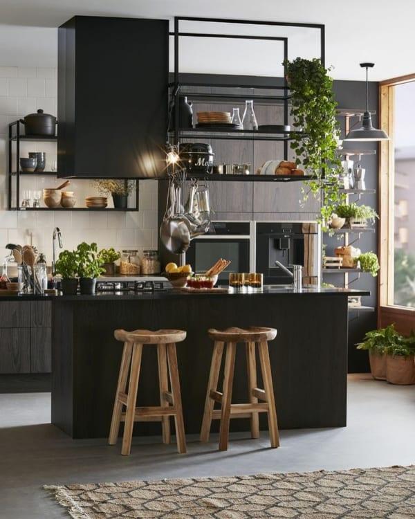 カフェ風キッチンインテリア≪テーブル≫5