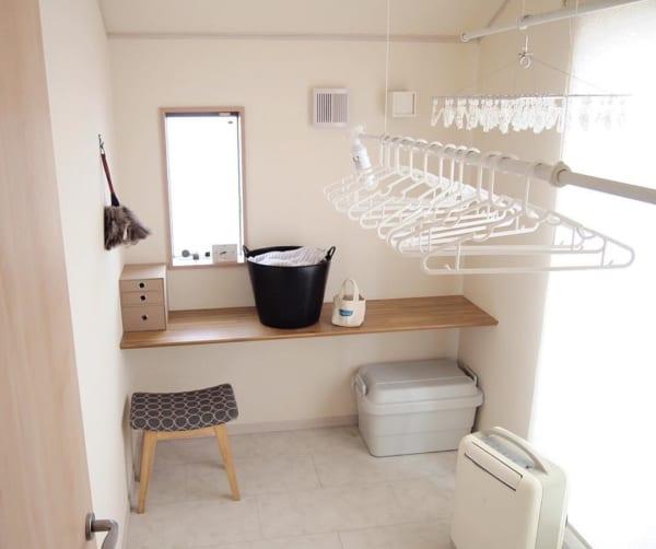 洗濯室兼ワークスペース