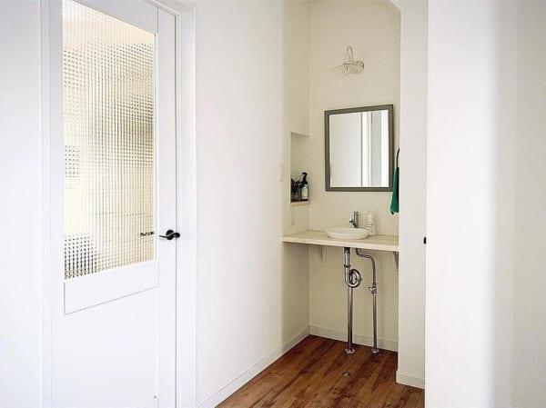 玄関のおしゃれな手洗いスペース