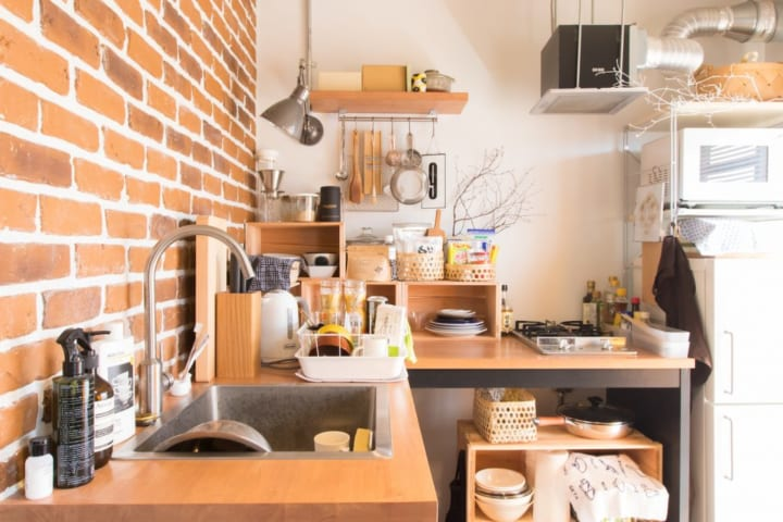 一人暮らし 狭い キッチン2
