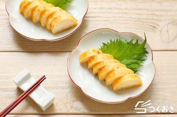 おいしい簡単な副菜に!長芋の味噌漬け