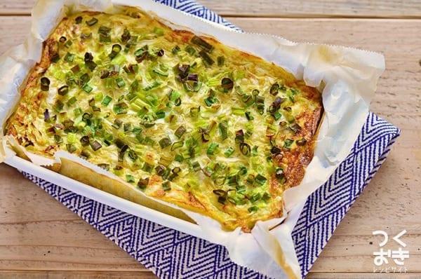 簡単な副菜のレシピ!長芋キャベツのオーブン焼き