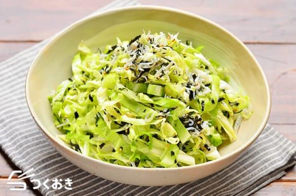 冷やし中華のメニュー☆簡単な副菜料理《和え》5