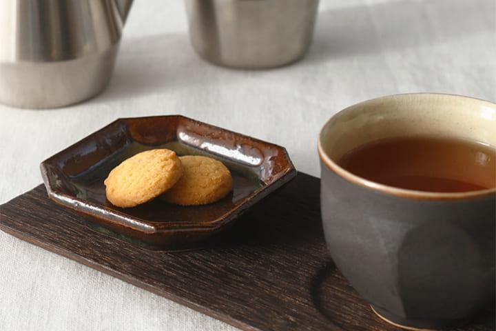 お茶とセットで