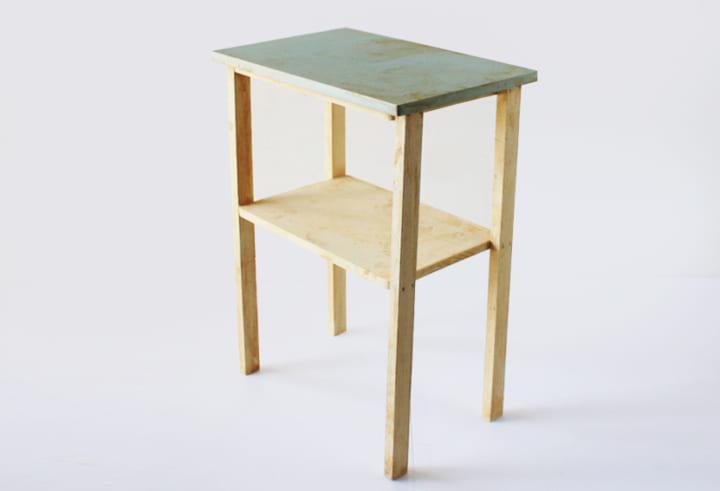 100均 テーブルラック DIY8