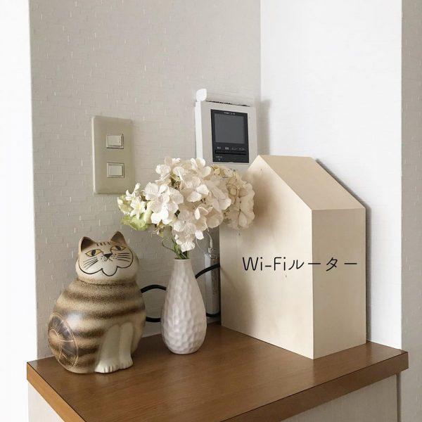 Wi-Fi ルーター 収納8