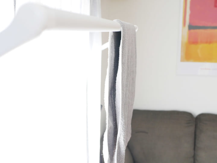 室内干しが楽しくなるおしゃれな物干し「soraie(ソライエ)」10