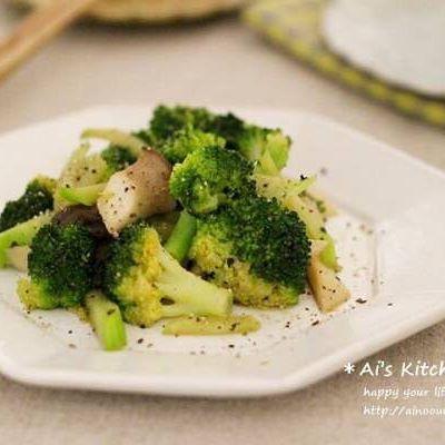 簡単おつまみに!ブロッコリーとエリンギの炒め物