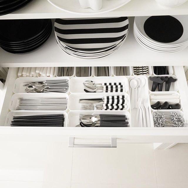 狭い部屋の収納アイデア《食器》4