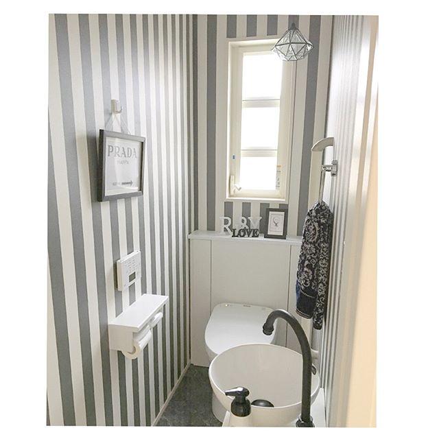 トイレ シンプル インテリア8