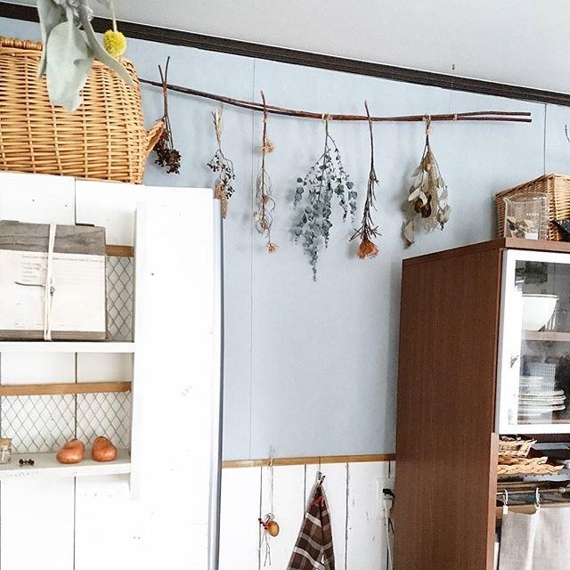 キッチンに人気のアクセントクロス7