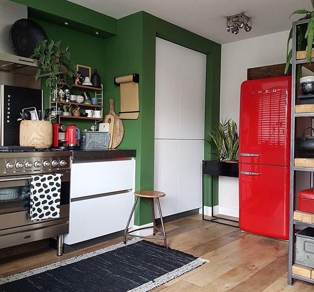 キッチンに人気のアクセントクロス19
