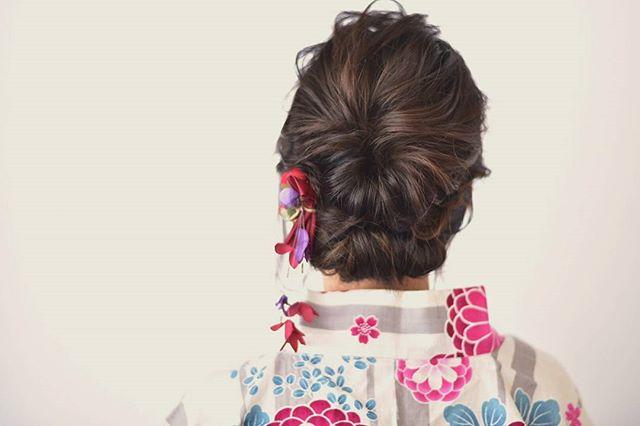 夏祭り 髪型16