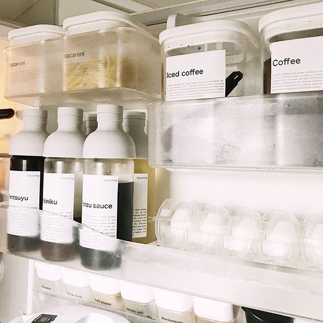 白蓋容器に詰め替えるアイデア