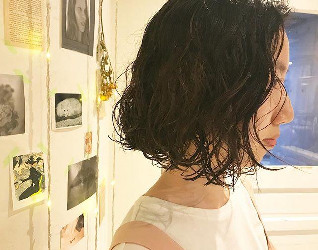 夏におすすめのボブ×黒髪5
