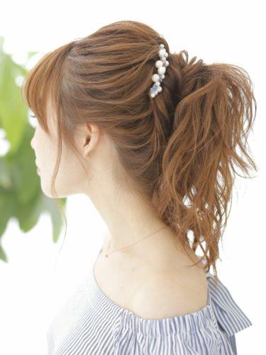 デートにおすすめのロングの髪型4