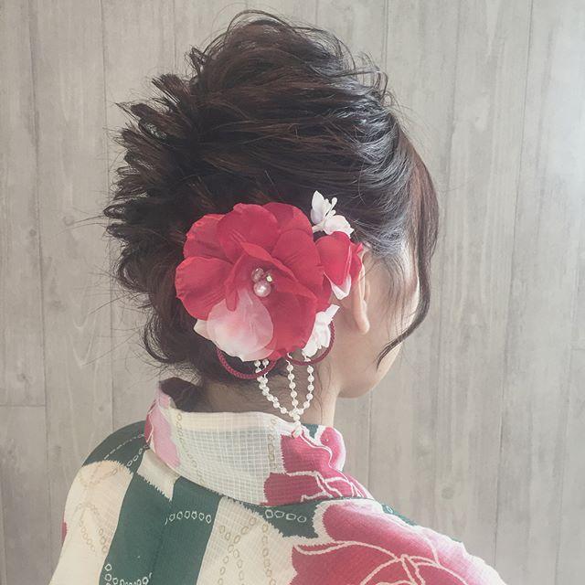 夏祭り 髪型13