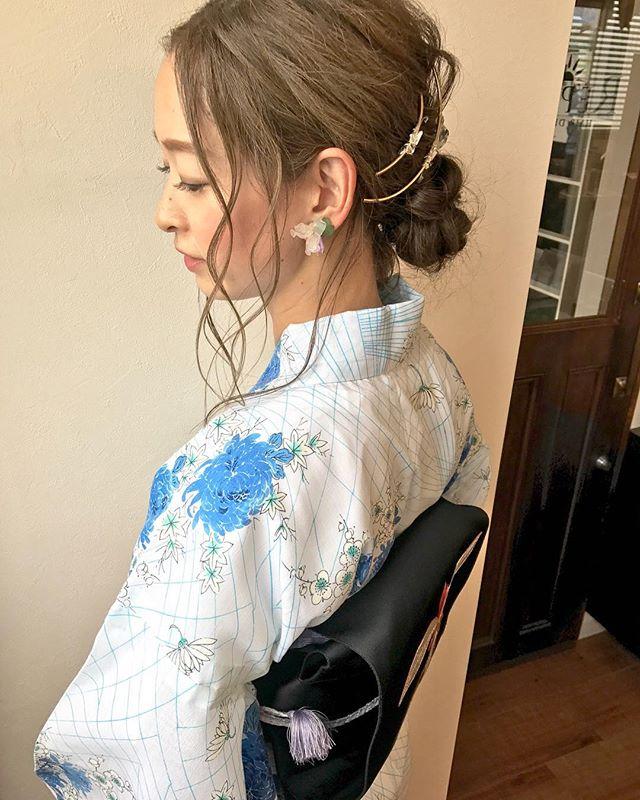 夏祭り 髪型24