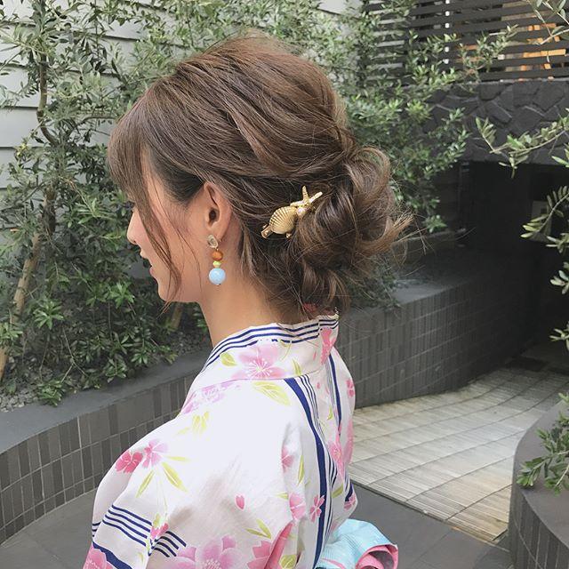 夏祭り 髪型9