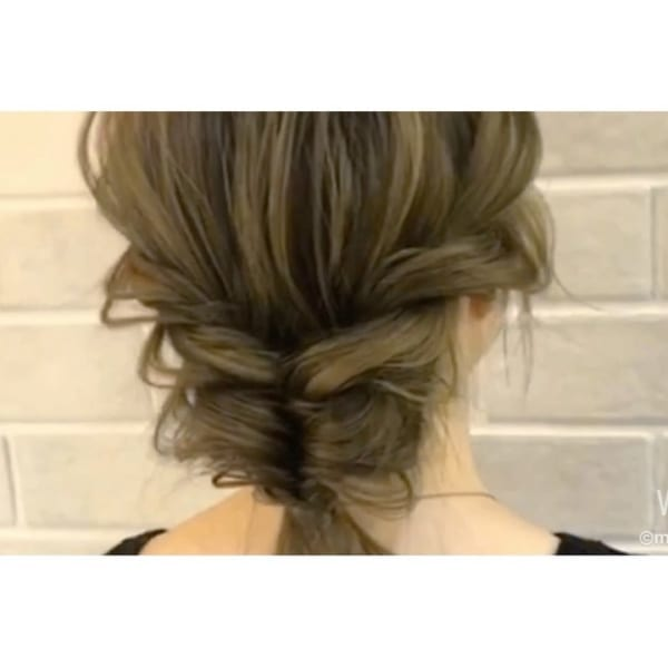 夏祭り 髪型17