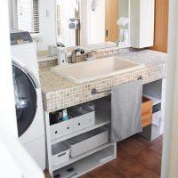 身支度スペースも自分らしい空間に!おしゃれな洗面所インテリアを叶えるコツ♪