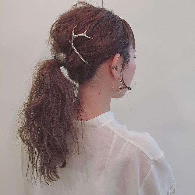 夏祭り 髪型25