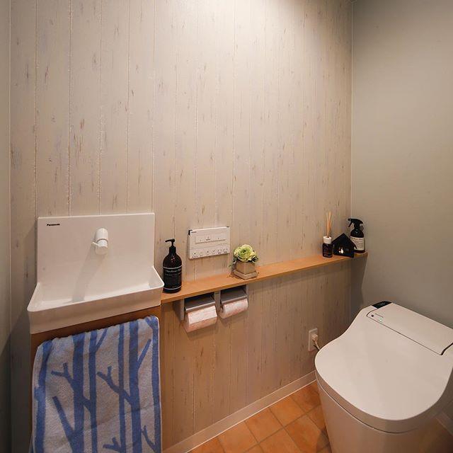 トイレ シンプル インテリア5