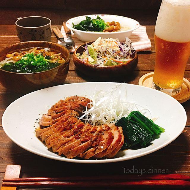 夏休みの夕飯は和食で決まり!簡単煮豚