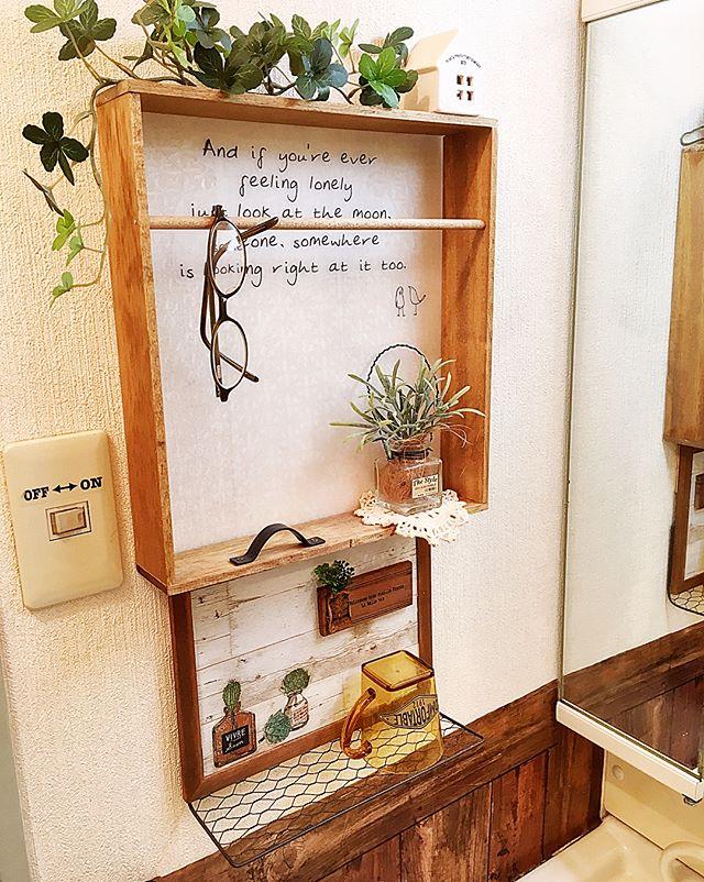 壁面におしゃれなDIY棚を設置するアイデア