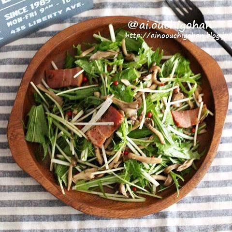 舞茸の簡単レシピ3
