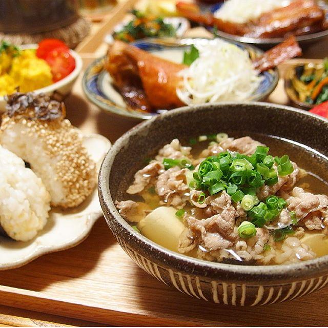 休日のディナーは贅沢に!豆腐入り肉吸い