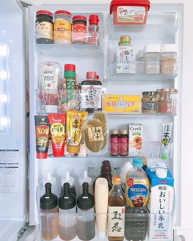 冷蔵庫のドアポケットを活用するアイデア