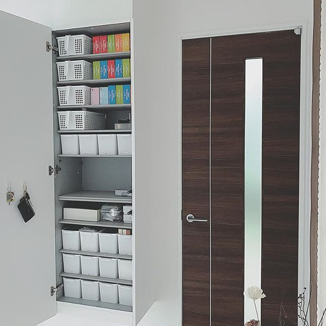 玄関の収納アイデア15