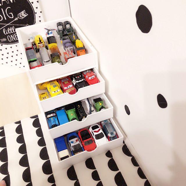 子供部屋の収納アイデア21