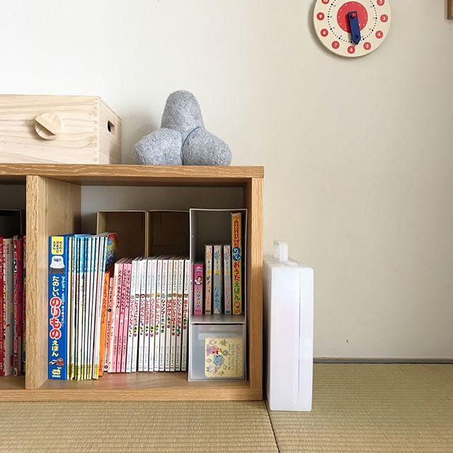 子供部屋の収納アイデア11