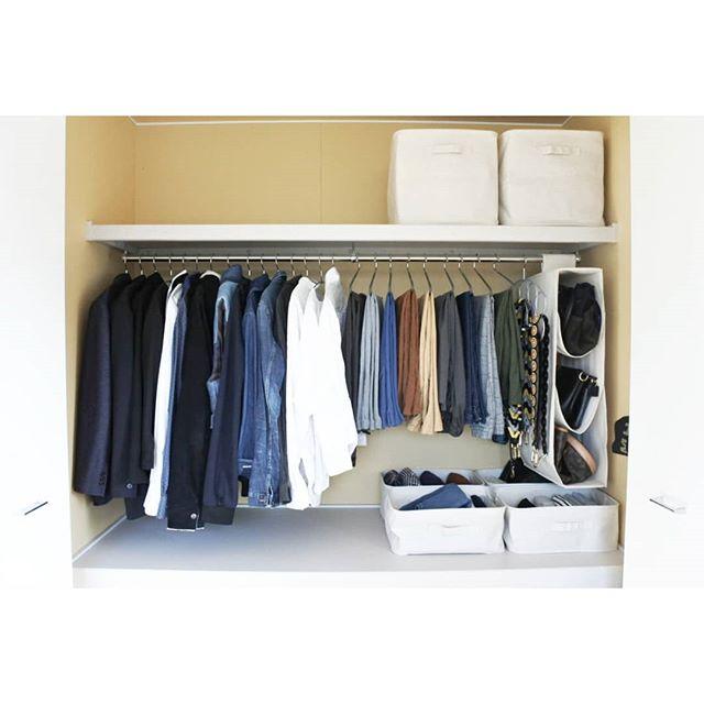 狭い部屋の収納アイデア《洋服》