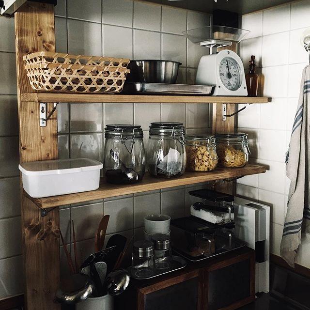 ディアウォール ラブリコ キッチン収納2