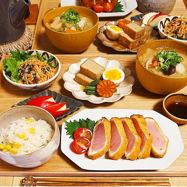 父の日は手料理を!和食レシピでマグロのレアカツ