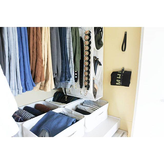 狭い部屋の収納アイデア《洋服》7