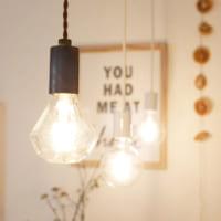 組み合わせ自由!レトロな雰囲気を感じる照明「LED SWAN BLUB」