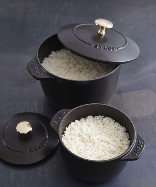 炊飯専用のホーロー鍋