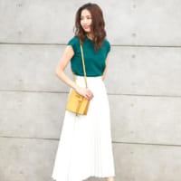 【2020最新】夏の白スカートコーデ特集!こなれ感のある大人ファッション