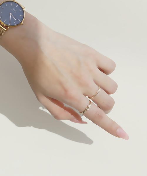 [L&Co.] K10 tie Ring