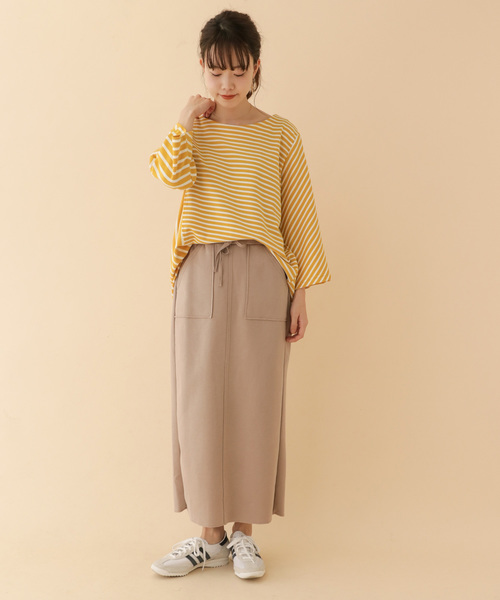 [ITEMS URBANRESEARCH] キリカエボーダーカットソー
