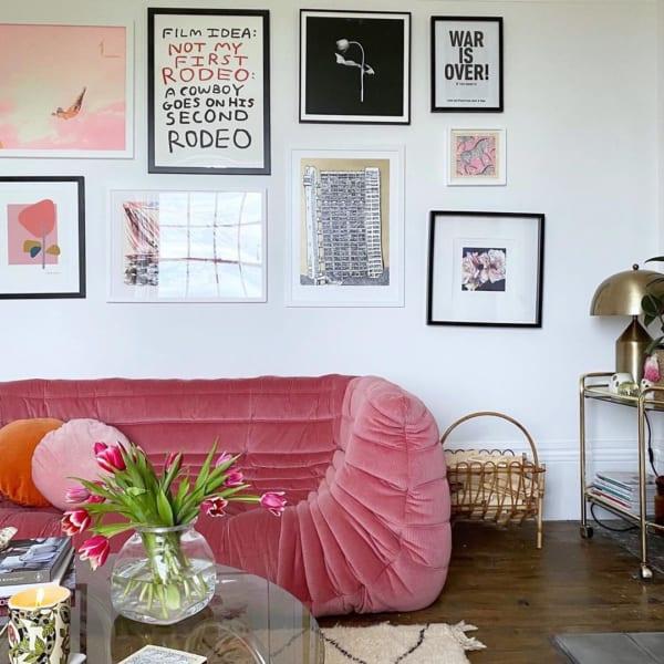 ピンク色の家具2