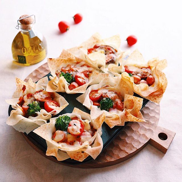 タラトゥイユの残り物で人気のクリスピーピザ