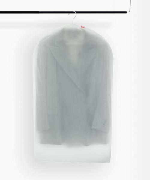 [entre square] Rayen/クロージングカバー S ホワイト/クリア PVA